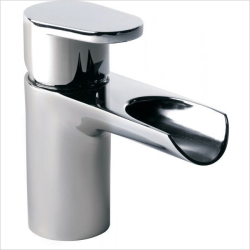 Roper Rhodes - Stream Open Spout Basin Mixer With Click Waste