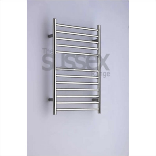 Ouse Adj Electric Flat Fronted Towel Rail 700x520mm