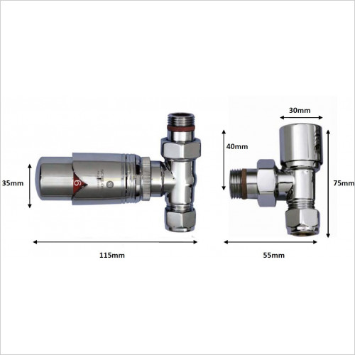 JIS Sussex - Mixed Thermostatic Valves - TRV