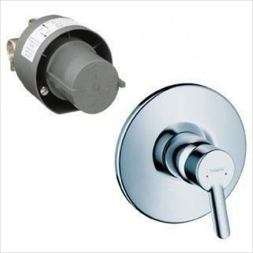 Hansgrohe - Focus S Single Lever Bath/Shower Mixer Concealed Set