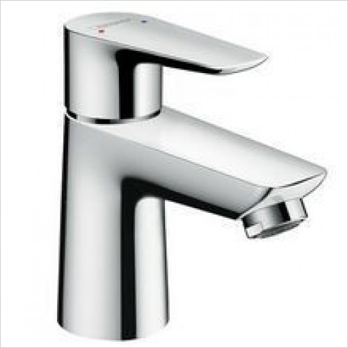 Hansgrohe - Talis E Single Lever Basin Mixer 80 With Push-Open Waste