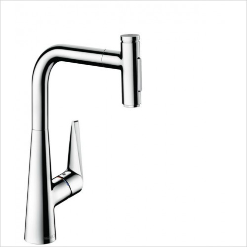 M5117-H300 - Single Lever Kitchen Mixer With Pull-Out Spray