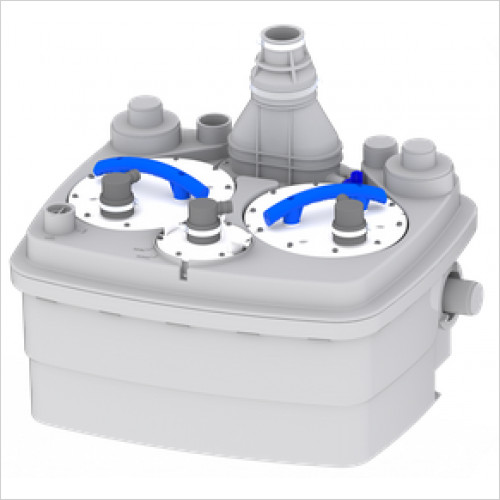 Saniflo - Sanicubic 2 Pro Heavy Duty Macerator Pump