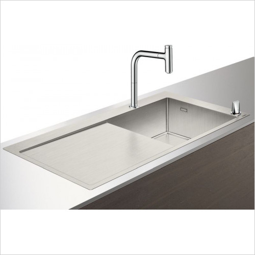 Hansgrohe - C71-F450-07 Sink Combination 450mm With Drainboard