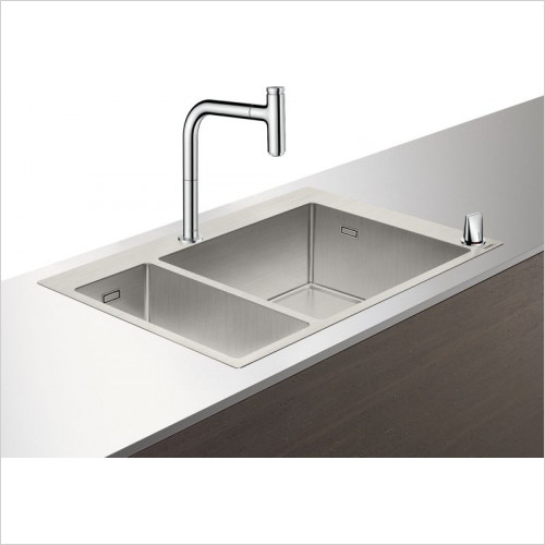 C71-F655-09 Sink Combination 180 x 450mm