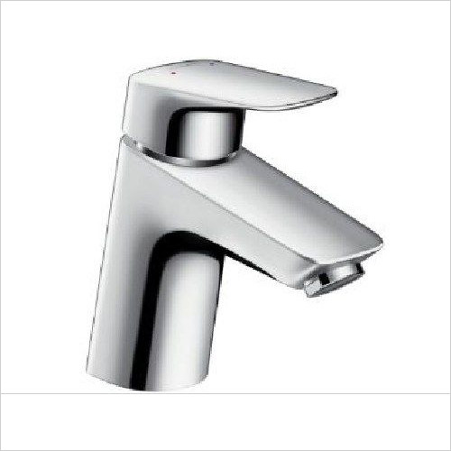 Hansgrohe - Logis Single Lever Basin Mixer 70 With Push-Open Waste Set