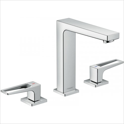 Hansgrohe - Metropol 3-Hole Basin Mixer 160 With Push-Open Waste