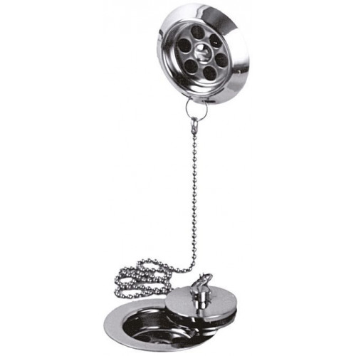 StowaWay Bath Waste Metal Plug & Chain 1 1/2''