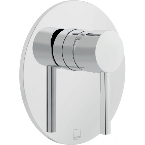 Vado - Zoo Round Concealed Manual Valve Single Lever