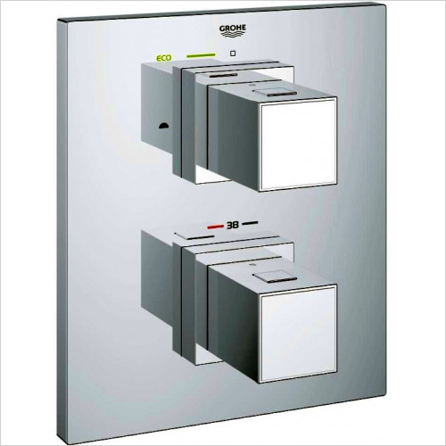 Grohe - Grohtherm Cube Thermostat With Integrated 2-Way Diverter