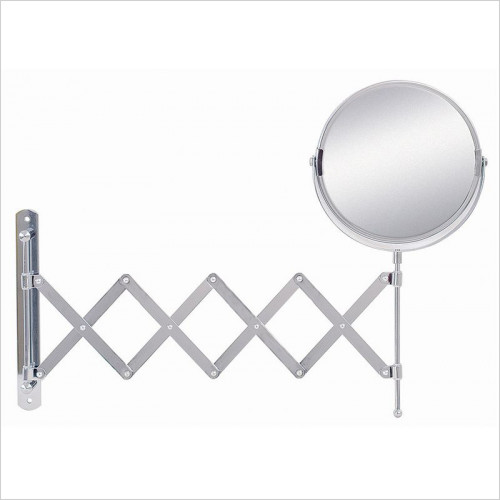 Bathroom Origins - Reversible Extendable Mag Wall Mirror