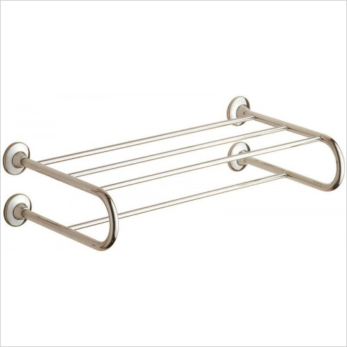 Bathroom Origins - Gedy Ascot Hotel Double Towel Rack