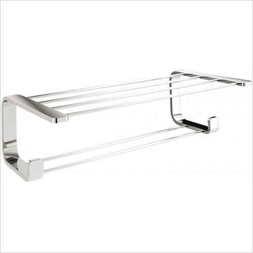 Bathroom Origins - Gedy Outline Double Towel Rack