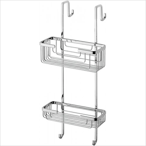 Bathroom Origins - Gedy Shower Rack 2 Tier