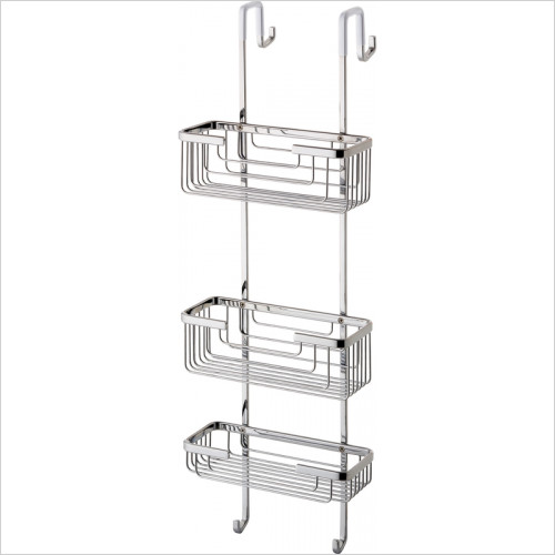Bathroom Origins - Gedy Shower Rack 3 Tier