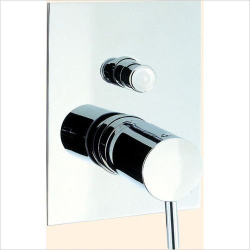 Crosswater - Kai Lever Manual Shower Valve - Diverter Recessed