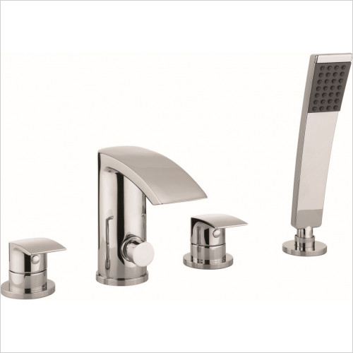 Crosswater - Bath Shower Mixer 4 Hole With Kit