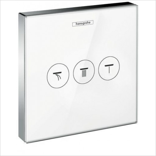 ShowerSelect Glass Valve For Conc Installation For 3 Outlets