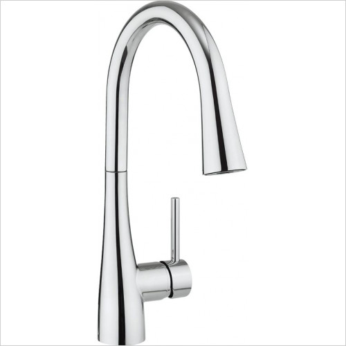 Crosswater - Cook Kitchen Mixer With Concealed Spray Head