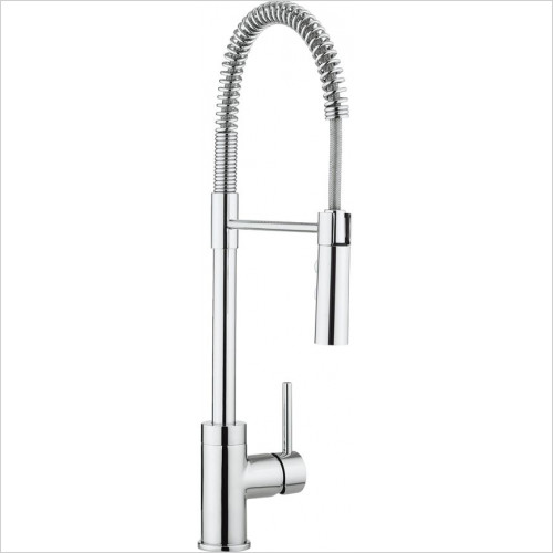 Crosswater - Cook Side Lever Kitchen Mixer With Flexi Spray