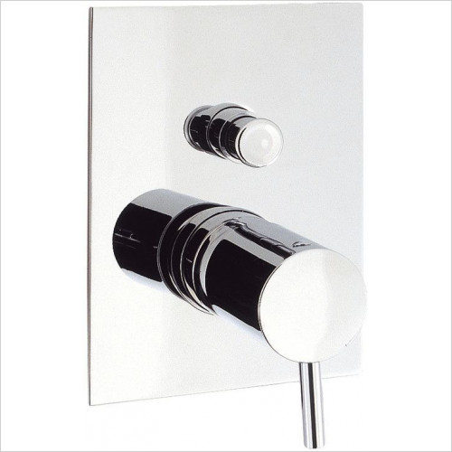 Crosswater - Kai Lever Manual Shower Valve With Diverter, Recessed