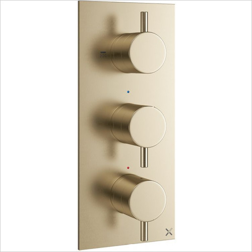 Crosswater - MPRO Thermostatic Valve 2 Outlet - Portrait