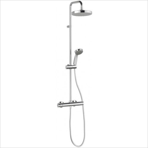 Crosswater - Svelte Multifunction Shower Kit With Integrated Wall Outlet