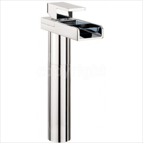 Crosswater - Water Square Basin Tall Monobloc