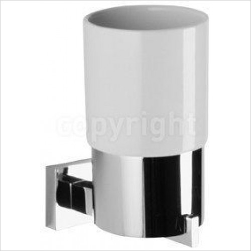Crosswater - Zeya Tumbler Holder Single