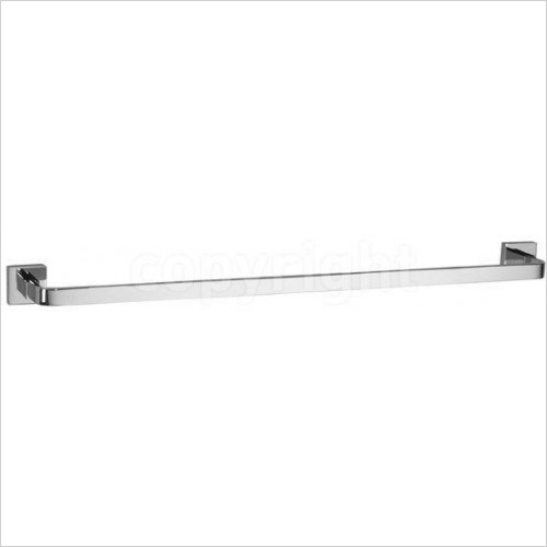 Crosswater - Zeya Towel Rail Single 600mm