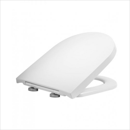 Tavistock - Delta D Shape Wrap Over Quick Release Soft Close Toilet Seat