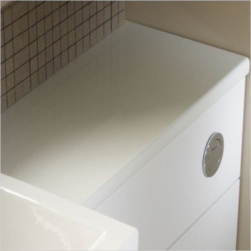 Tavistock Bathrooms - Courier Slimline Worktop 1500mm
