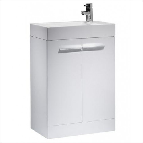 Kobe Floorstanding Unit & Basin 1TH 560mm