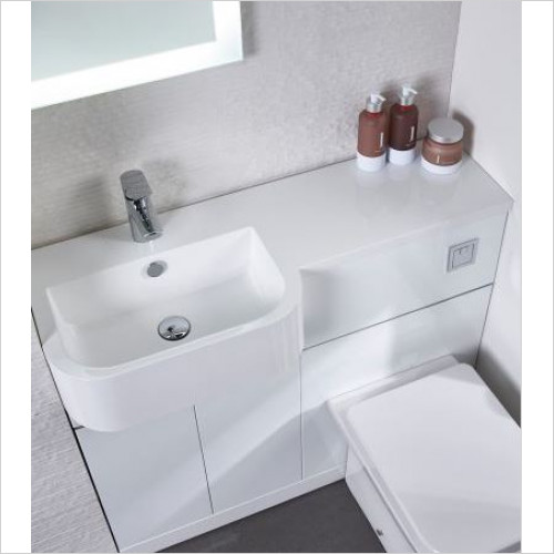 Tavistock Bathrooms - Match Isocast Basin 1000mm LH