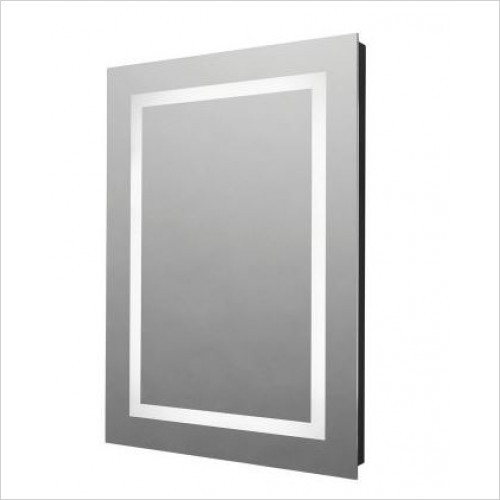 Tavistock - Realm Led Illuminated Mirror With Recharging Socket
