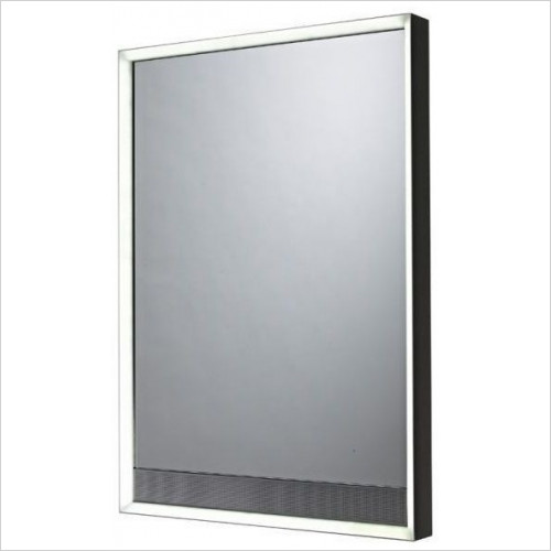 Tavistock - Pitch Bluetooth LED Back-Lit Mirror 500 x 700mm