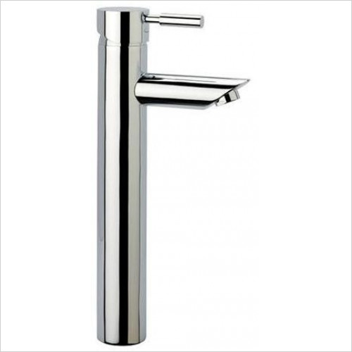 Tavistock - Kinetic Tall Basin Mixer, No Pop Up Waste