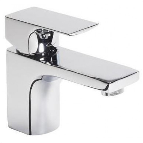 Tavistock - Siren Square Mini Basin Mixer Tap With Click Waste