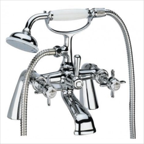 Tavistock - Varsity Bath Shower Mixer & Handset