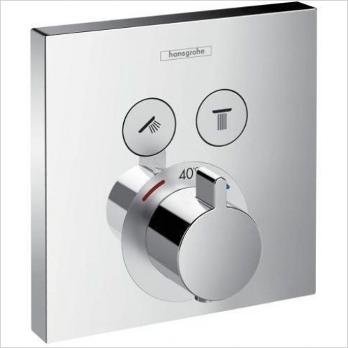 Hansgrohe - ShowerSelect Thermostat - 2 Outlets