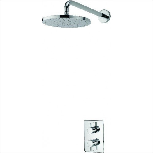 Aqualisa - Dream DCV Mixer Shower W Wall Fixed Drencher Head