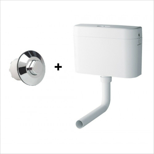 Grohe - Adagio Flushing Cistern for WC & Air Button 37762SH0+38488