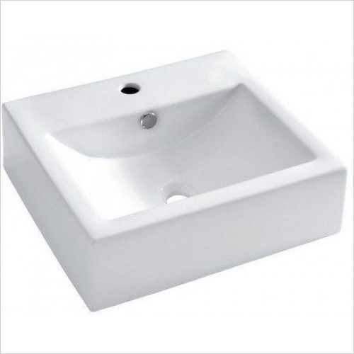 Crosswater - Bolonia Wall Mounted Basin With Overflow 510mm