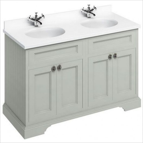 Burlington - Minerva 1300 Top With Double Vanity Bowls For FC9 & FC10