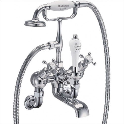 Claremont Wall Angled Bath Shower Mixer