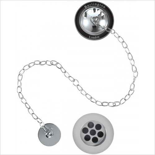 Bath Plug And Chain Waste