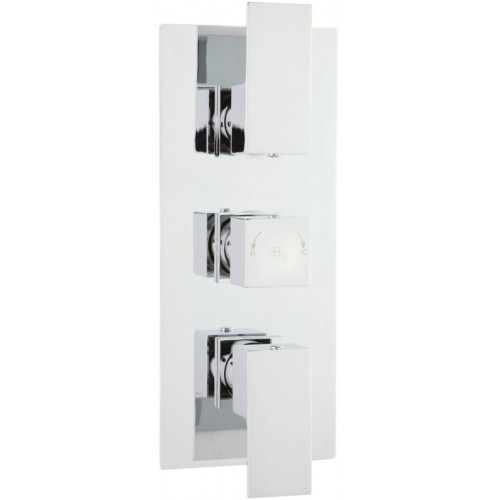 Art Triple Thermostatic Shower Valve With Diverter