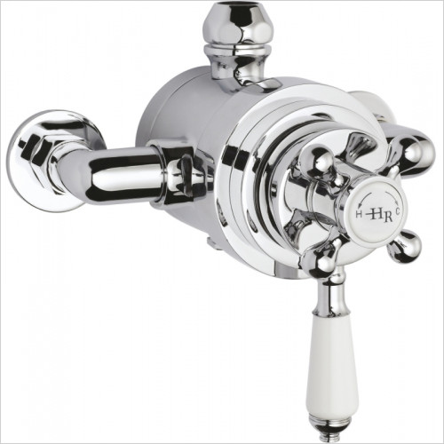 Hudson Reed - Topaz Dual Exposed Shower Valve