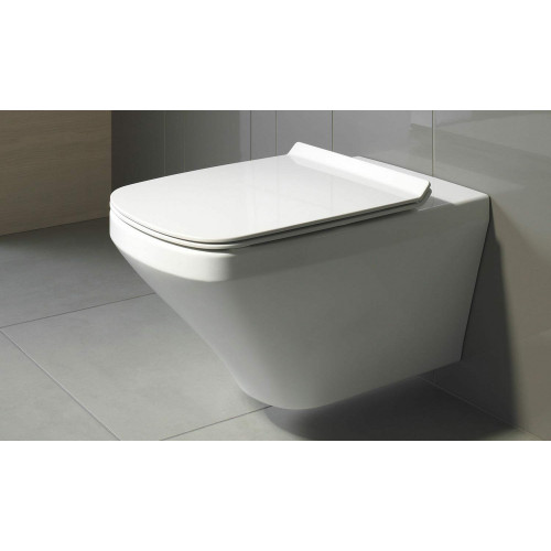 Durastyle Square Wall Hung Rimless Toilet WC Pan Box