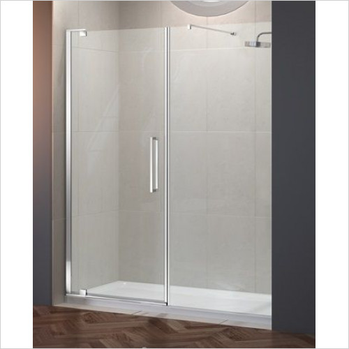 Merlyn - 10 Series Pivot Door 800mm & Inline Panel 400mm